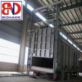 專業生產大型全纖維臺車式電阻爐