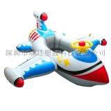 廠家現貨熱銷PVC加厚帶方向盤充氣嬰幼兒飛機座圈兒童坐艇游泳圈