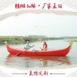 木船廠家出售定製婚紗攝影道具船公園裝飾船貢多拉遊船