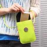 2016新款韓版手機編織女包零錢包時尚單肩斜跨迷你小包