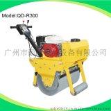 廣東廠家供應600小型振動單輪汽油壓路機,原裝進口本田動力