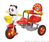 燦成 8222 兒童雙人三輪車 雙胞胎童車