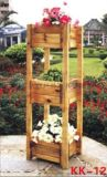 戶外廣場實木花箱  戶外園林木製花箱  戶外景區木製花箱