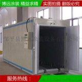 博遠牌 電動車高溫烤漆房 200℃-300℃噴塑烤漆房 電加熱升溫快