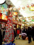 山西晉城聖誕樹工廠戶外聖誕亮化真樹纏燈