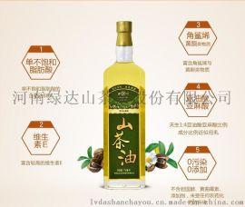 綠達野生山茶油750mL  天然有機 0添加