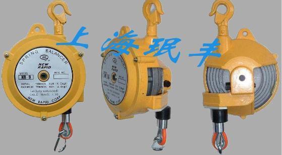 2,弹簧平衡器结构简单,方便使用内藏有为防止弹簧断裂时候的安全