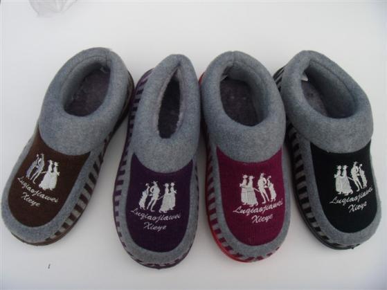 内销凉拖鞋和棉拖鞋