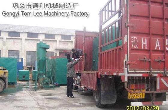 新型木炭机设备  1,炭化快:采用免烧窑技术