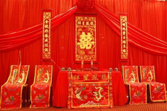 出售服务内容中式婚礼婚礼是汉传统文化精粹之一,大红花轿,浩浩荡荡的图片