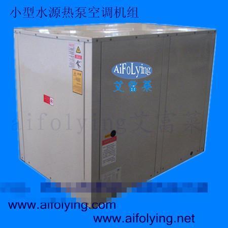 排热设备(冷却塔),辅助热源,循环水泵,水管环路,水系统控制箱和室内