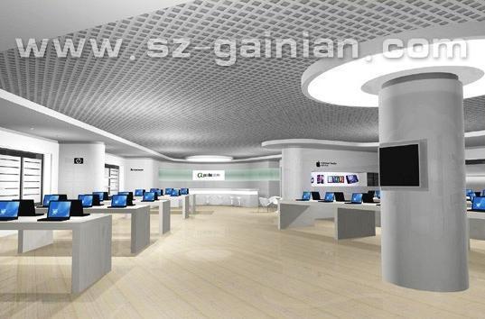 电子等产品展示厅及珠宝专柜设计制作图片
