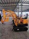 挖掘沙土的小挖機哪余賣  好操作的園林挖掘機生產廠家