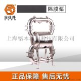 固德牌QBW3-80不鏽鋼衛生級隔膜泵各類食品廠通用型