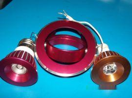 高檔鋁押出LED射燈(1-3W, 可提供配對的安裝鋁合金支架)