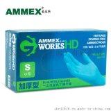 AMMEX愛馬斯一次性無粉丁腈手套APFGWCHD
