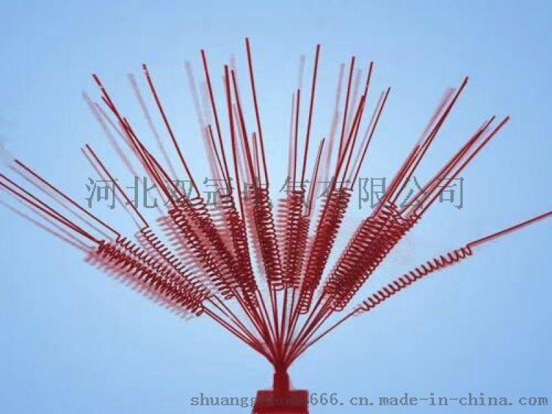 電力線路防鳥刺噴塗彈簧式防鳥刺技術參數