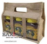 鄭州蜂蜜麻布包裝袋 多瓶單瓶包裝