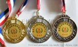 惠州獎牌金屬獎章運動會勳章鍍金紀念章設計訂做工廠
