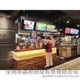 供應全國各餐飲連鎖高清餐牌顯示屏|高清液晶數位標牌廠家價格