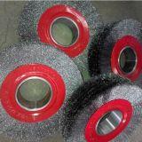 刷廠直銷鋼絲拋光毛刷輪,拋光除鏽除污鋼絲輪,五金工具鋼絲刷