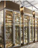 北京不鏽鋼紅酒櫃定製恆溫恆溼酒櫃