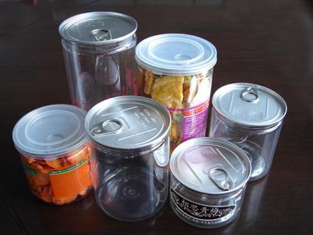 PET透明食品易拉罐
