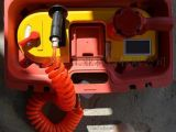 煤礦專用線鋸礦下切割氣動線鋸氣動帶鋸煤安證防爆鋸冷切割氣動鋸