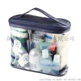 定製PVC透明旅行洗漱袋旅行便捷浴室洗漱收納包