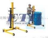 ETU易梯優,超低型液壓油桶搬運車 手推式油桶車 可進入托盤底部