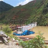 河道水葫蘆清理裝置,水草打撈船,垃圾打撈船