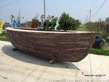 船型吧檯 景觀海盜船餐飲船 裝飾木船廠家定做
