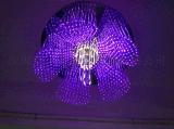 花型光纖燈、造型光纖燈、水晶花瓣光纖吊燈