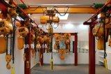 建築電動提升機 環鏈電葫蘆 2T*4M雙鏈固定式