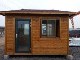 來樣定做可移動式防腐木房屋