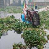 水葫蘆氾濫切割機械 全自動水草清理打撈船
