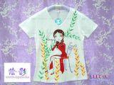 手繪T恤,精品手繪服飾 (TX-027)