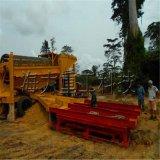 淘金設備,選沙金機械,移動式淘金機械,河沙淘金車