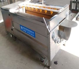 諸城【豪聯】牌HLXM-1500型進口尼龍毛刷瑪卡清洗機