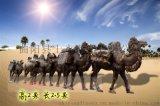 玻璃鋼雕塑模擬仿銅雕塑駱駝雕塑景區公園沙漠樹脂擺件
