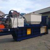 湖南廢紙打包廠用打包機 可定做各種打包尺寸的打包機 半自動打包機