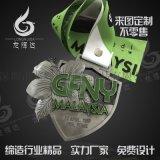 馬拉松運動會金牌定製獎章金牌銀牌銅牌製作
