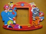 工廠直銷PVC軟膠滴塑相框 磁性相框訂做 工藝促銷禮品定製