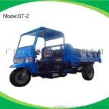 供應ST-2勤達柴油三開門礦用三輪車