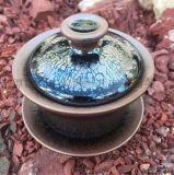 【一凡建盞】9.3*5.3cm 三才碗 建盞-油滴蓋碗 茶具