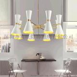 後現代簡約大氣客廳燈 個性創意餐廳臥室展廳鐵藝黑白色裝飾吊燈