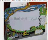新加坡旅遊相框定製 PVC軟膠相框訂製廠家