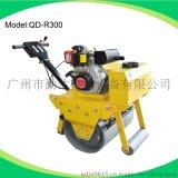 廣州廠家直銷600型手推式路面振動碾,手扶式單輪壓路機GX270動力