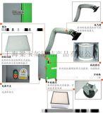 德威萊克移動式焊煙淨化器DWHL10D