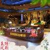 大型餐廳歐式酒店裝修菜臺餐飲木質景觀裝飾船服務類船